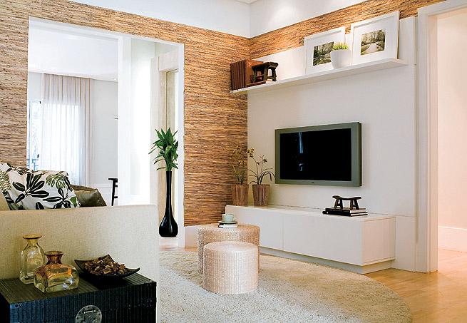 Decora o de salas pequenas e simples - Fotos d salas ...
