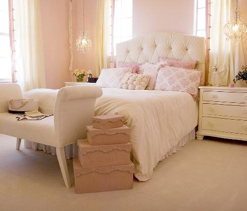 Lindo quarto feminino