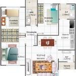 Plantas de casas pequenas e bonitas: 22 modelos grátis