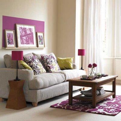 Decora o de salas pequenas e simples for Cuadros para decorar salas pequenas
