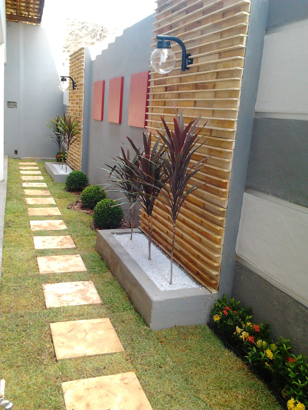 jardins quintal pequeno:Decoracao De Jardins