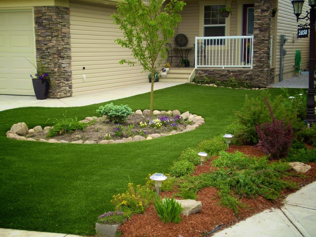 Modelos de jardins residenciais pequenos e simples - Jardin pequeno fotos ...