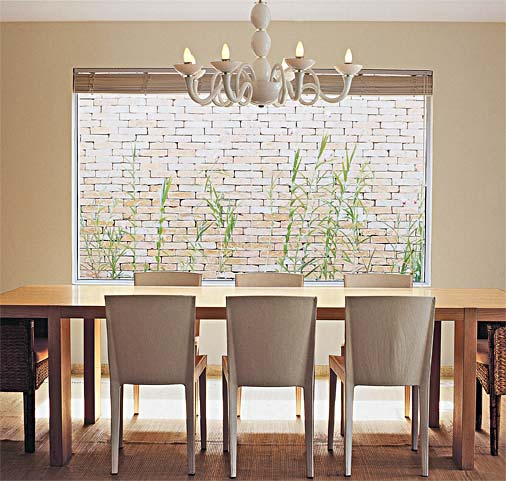 Lustre moderno para sala de jantar