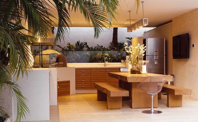 Área gourmet - como decorar