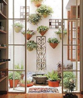 Como organizar o jardim de inverno