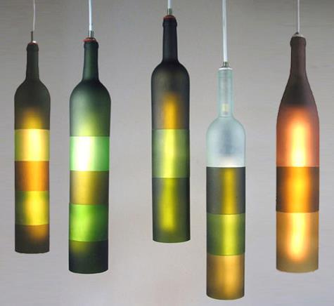 decoração com reciclagens