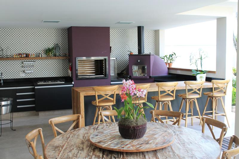decoração espaço gourmet