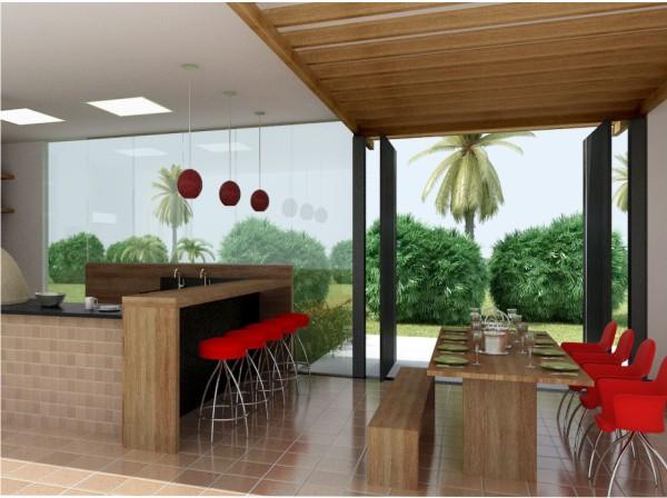 como decorar um espaço gourmet
