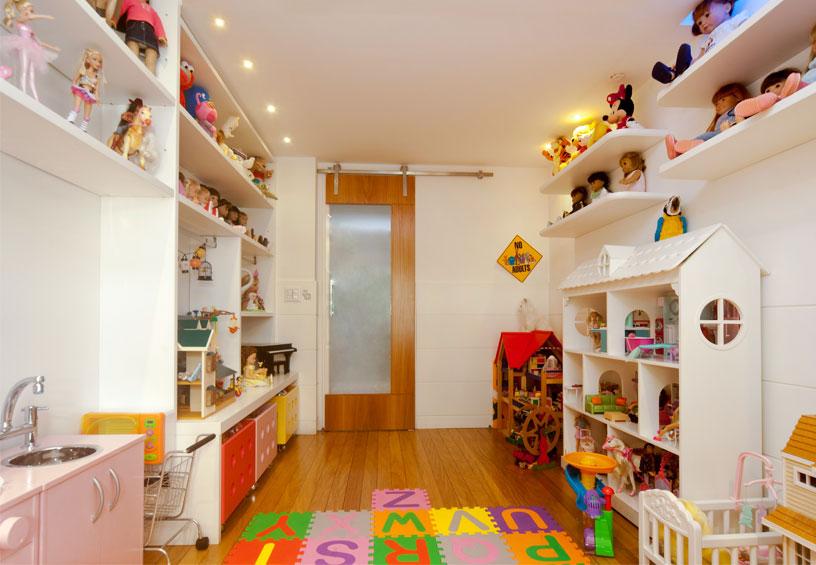 quarto para crianças brincarem