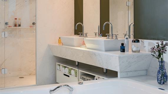 Banheiros Sofisticados decorados 20 Modelos -> Banheiros Decorados Atuais