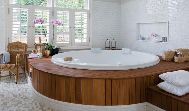 Banheiros Sofisticados decorados 20 Modelos -> Banheiros Modernos Com Hidro
