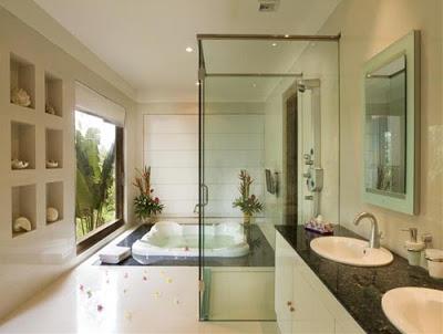 Banheiros sofisticados decorados 20 modelos for House washroom design
