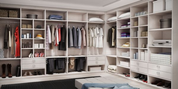 Closets planejados 28 modelos lindos for Modelos de closets para dormitorios modernos