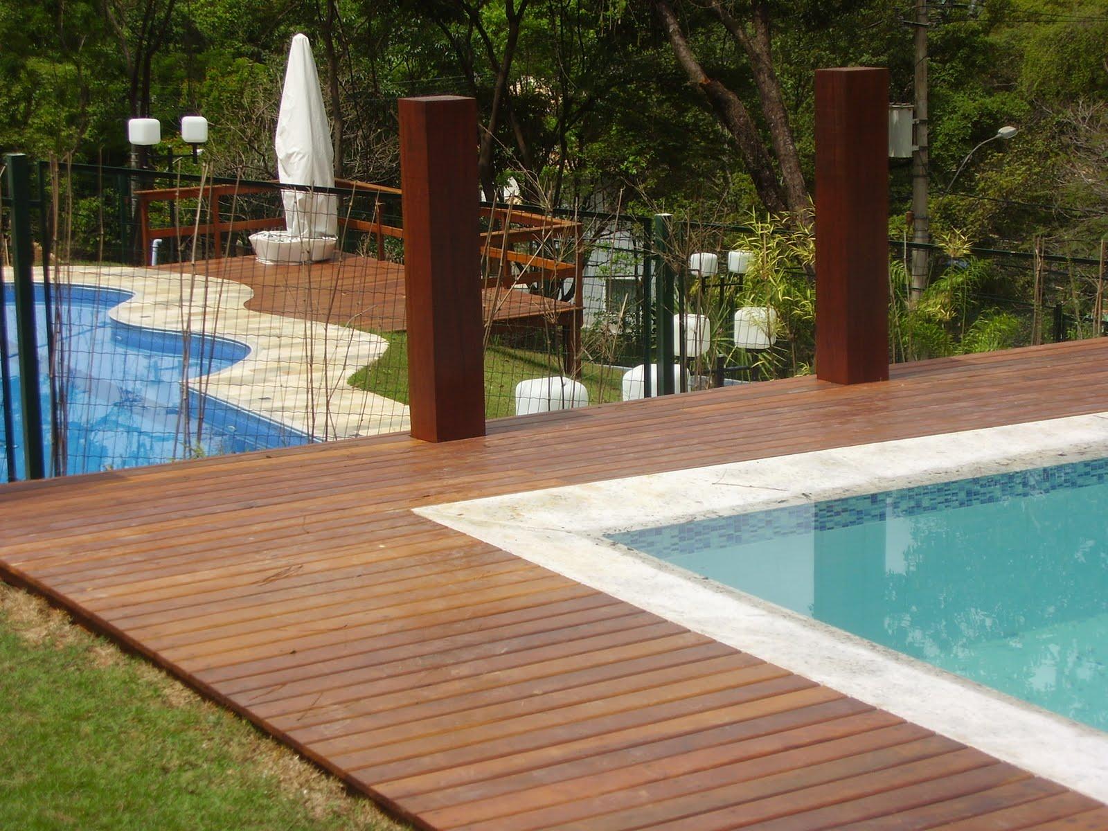 12 modelos de deck de madeira para piscinas for Ver modelos de piscinas