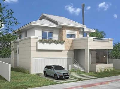 fachadas-de-sobrados-com-varandas-modernos