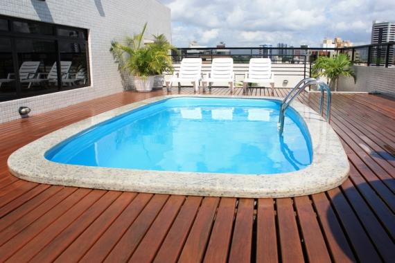 12 modelos de deck de madeira para piscinas - Todo para piscinas ...