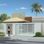 27 Modelos de Frentes de casas simples e modernas