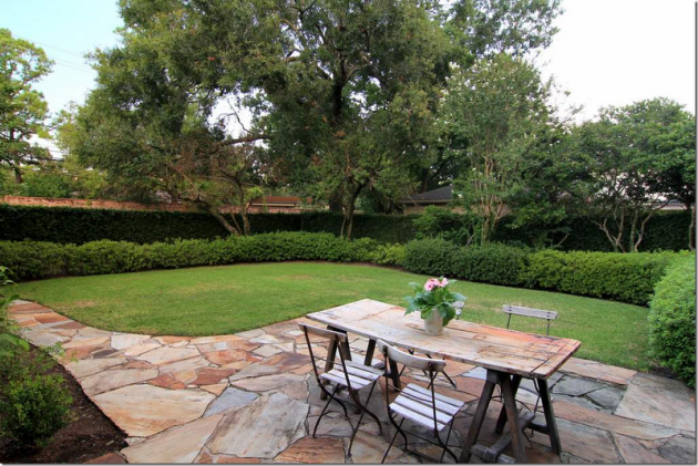 jardim quintal grande:Como fazer um jardim barato no quintal