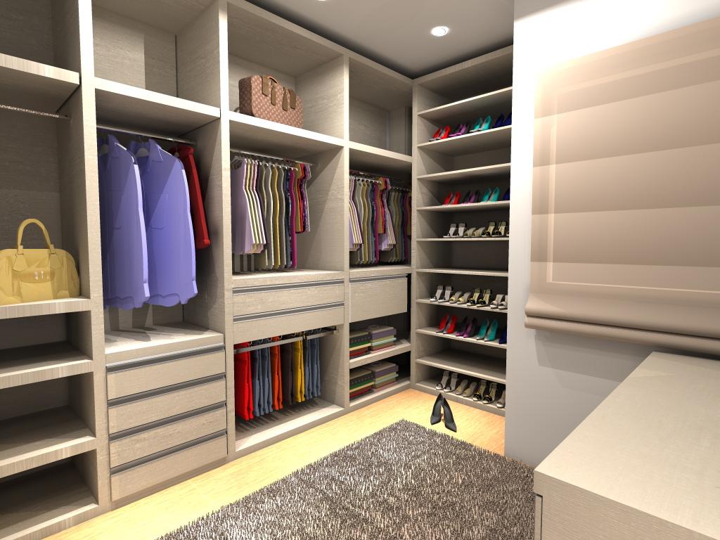 Closets Planejados: 28 Modelos lindos #9C792F 1024x768 Banheiro Adaptado Medidas