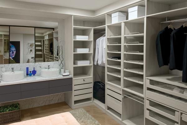 Closets planejados 28 modelos lindos for Modelos de closets para dormitorios pequenos