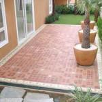 Modelos de pisos para Área externa e garagem