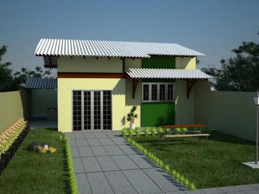 Modelos de telhado branco para casas for Casa de modelos
