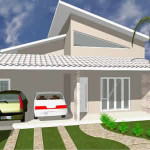 Modelos de Telhado Branco para Casas