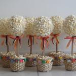 Como fazer árvore de pipoca para festa junina