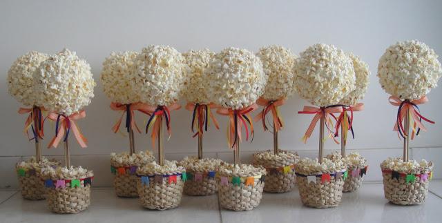 festa junina jardins : festa junina jardins:Como fazer árvore de pipoca para festa junina