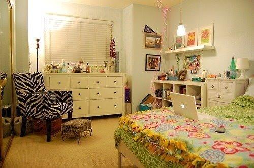 decoracao-vintage-para-quarto-de-mulheres