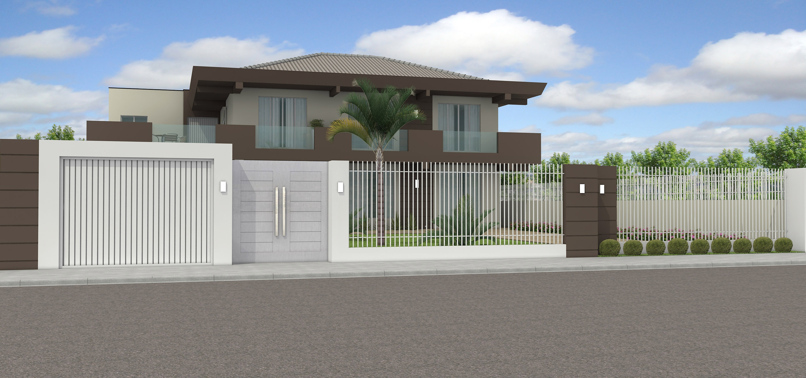 Port es de casas modernas 13 modelos para inspirar for Modelos de techos metalicos para casas