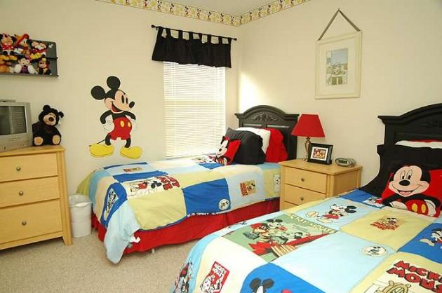 quartos-de-criancas-decorados-mickey
