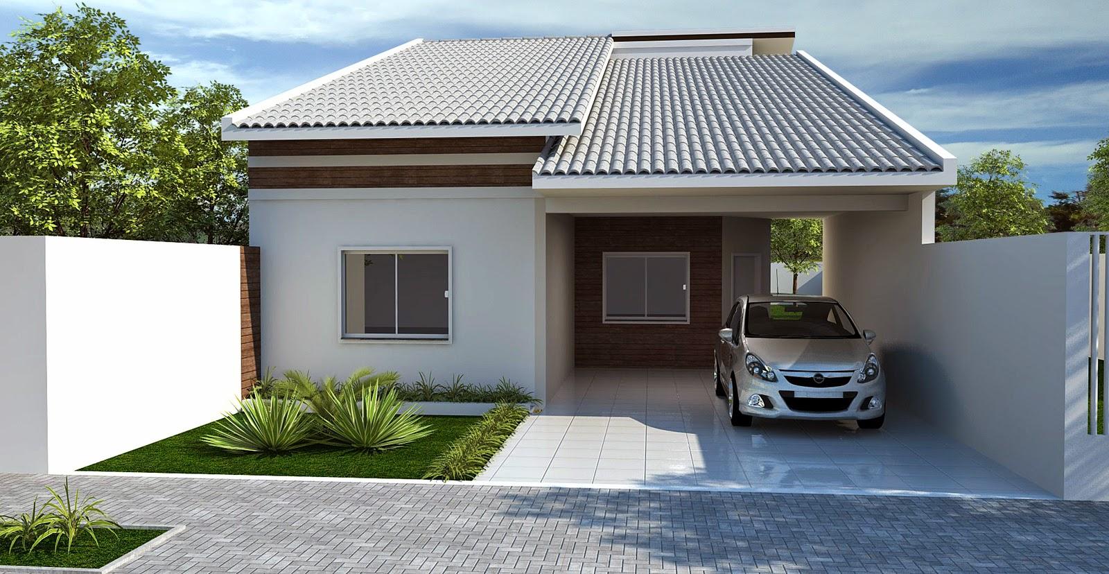 9 bel ssimas fachadas de casas com telhado