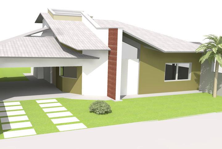 fachada pequena para casa projetos - Fachadas De Casas Pequeas