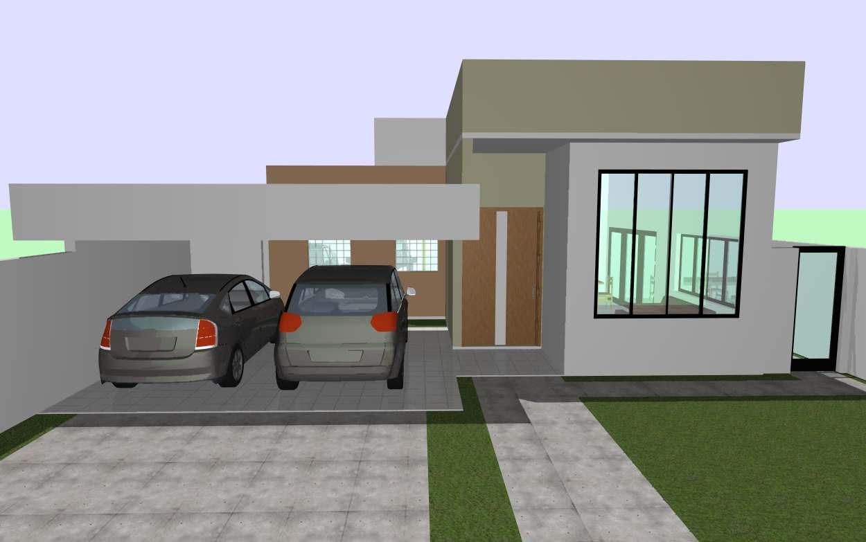 14 modelos de fachadas de casas pequenas for Modelos de fachadas modernas para casas