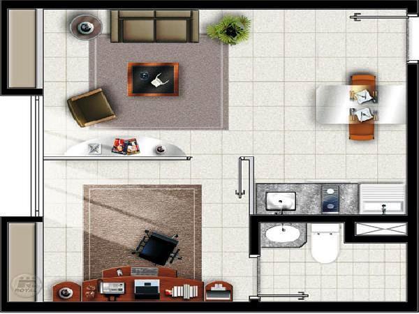 Como construir quitinetes dicas plantas e modelos Modelo de viviendas para construir
