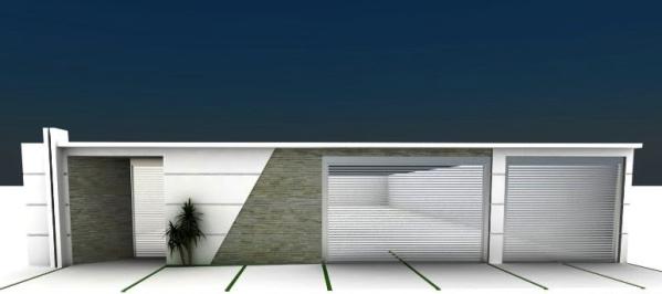 Muros modernos para Casas