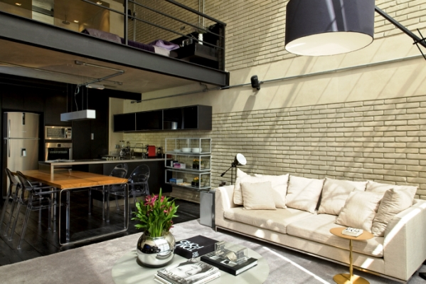 Lofts Decorados e modernos deracoes