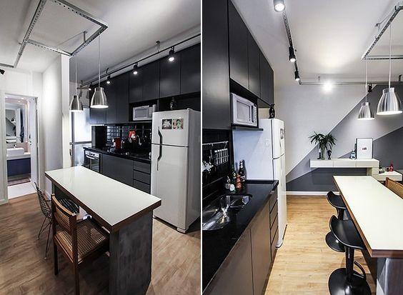 cozinha-moderna-escura