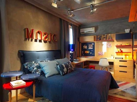decoracao-de-quarto-masculino-music