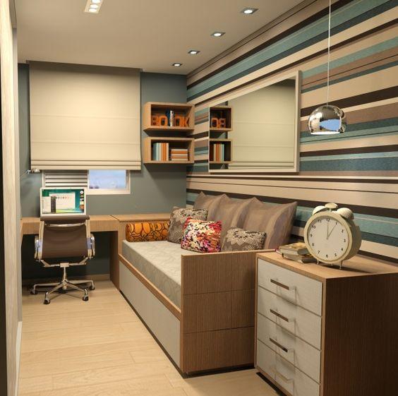 decoracao-de-quarto-masculino-pequeno-com-escritorio