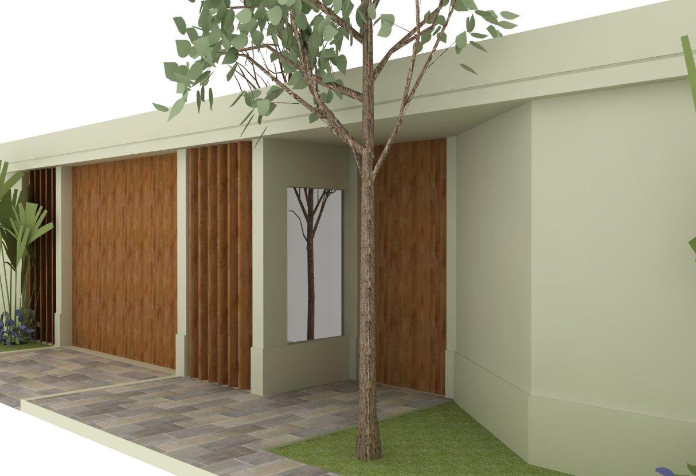 muro de casa simples e bonito