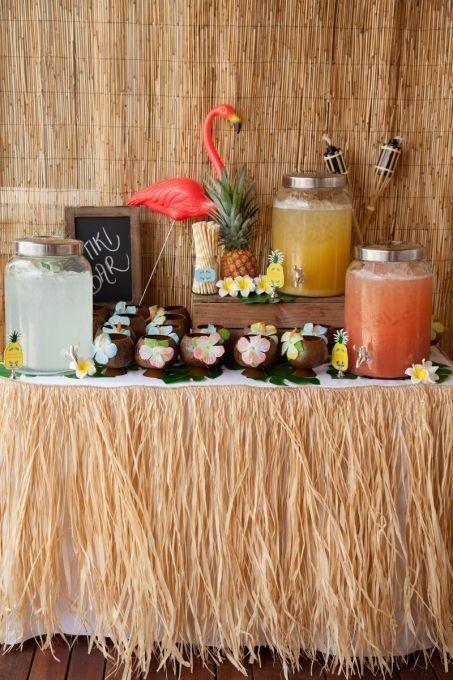 fotos de Decoração de Festa Havaiana
