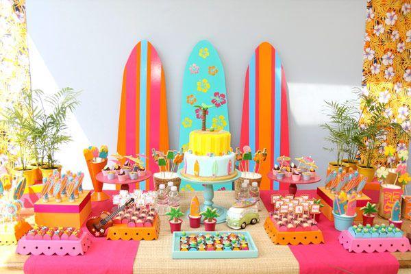 Dicas para Decoração de Festa Havaiana