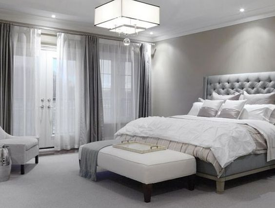 como usar cortinas para quarto de casal