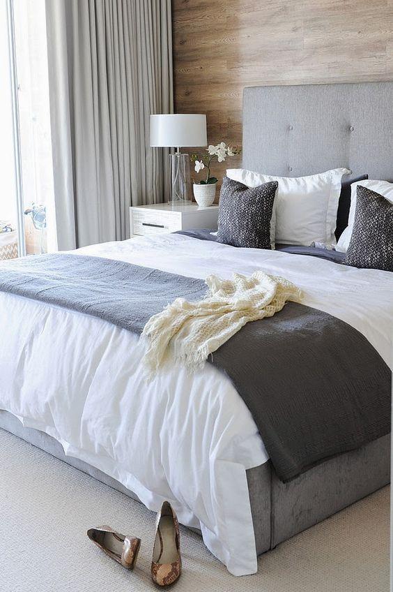 cortinas para quarto de casal
