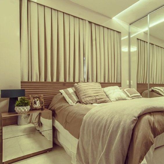 modelos de cortinas para quarto de casal