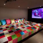 Decoração de Home Theaters em Ambientes (50 Fotos para inspirar)