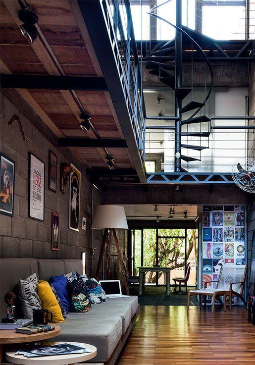 Decora o industrial 70 fotos inspiradoras - Fotos de lofts decorados ...