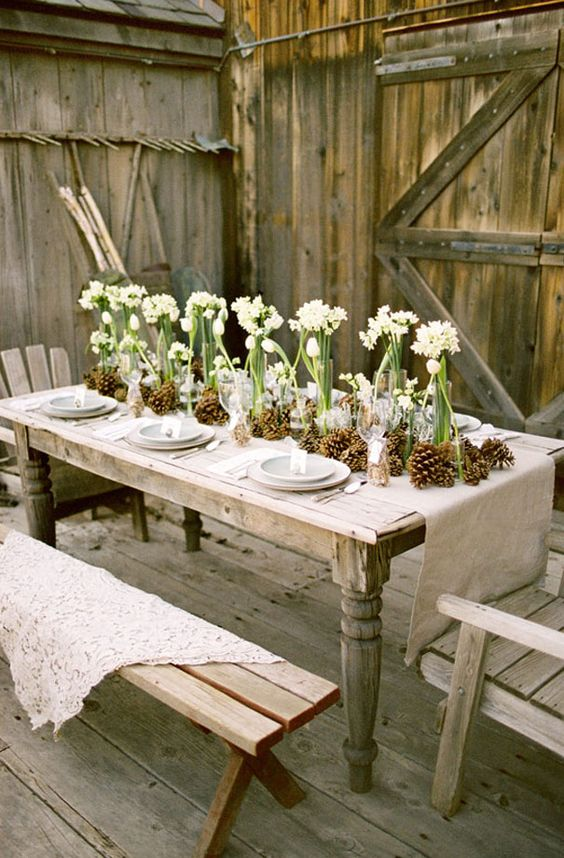 fotos de mesas de jantar decoradas
